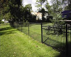 black chain link fence for the home pinterest black chain