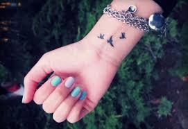53 awesome birds wrist tattoo designs