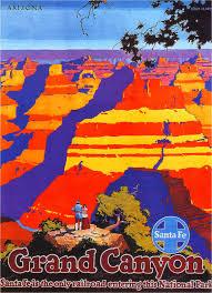 Arizona travel posters images Art artists vintage travel posters part 4 jpg