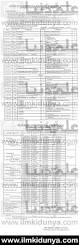 bise rawalpindi board matric date sheet 2017
