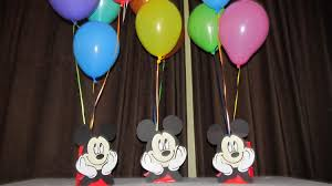 mickey mouse center pieces mickey mouse party centerpiece by dreamcometrueparties on etsy