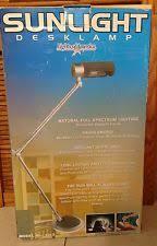Sunlight Desk Lamp by Full Spectrum Desk Lamp Ebay