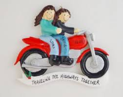 motorcycle ornament etsy