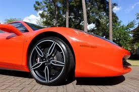 golden ferrari genuine ferrari 458 speciale aperta speciale wheels