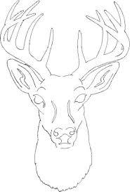 free deer head patterns scroll saw patterns u003e medium patterns