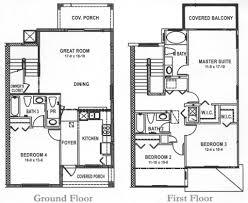 floorplan of the 4 bedroom house at regal palms