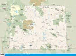 Road Trip Map Plan A Wyoming Road Trip With Springs Cowboys U0026 More