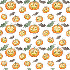 art watercolor seamless halloween background stock photo 612262910