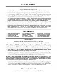 resources executive resume airline industry
