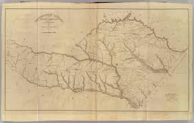 Blank Sc Map by Orangeburgh District South Carolina David Rumsey Historical