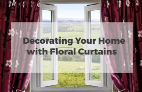 Curtains Floral Decorating Your Home With Floral Curtains Pin Jpg