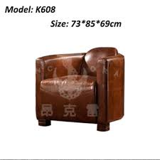 Full Leather Sofa Tomcat Chair Vintage Button Back Sofa Design - Full leather sofas