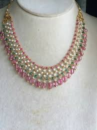 pink pearl gold necklace images 237 best pearl jewellery images beaded jewelry jpg
