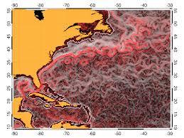 Map Of The Gulf Stream Barcelona Expert Center Singularity Analysis Service