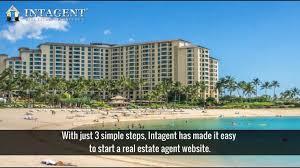 looking for real estate agent website design intagent com