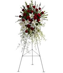 floral spray and tribute spray by teleflora in anoka mn floral