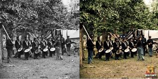 historical black white photos ressurected color nerd