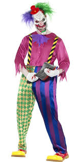 killer clown costume kolorful killer clown costume 21623 fancy dress