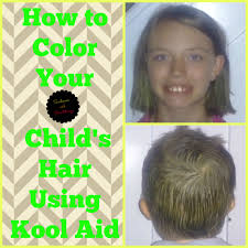 ways to dye short hair how to color your child s hair using kool aid sunbeams and