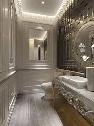 luxury interior design ideas for small bathrooms with black and