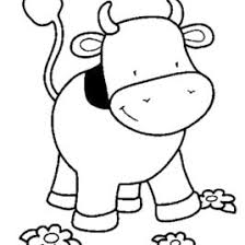 baby cow coloring page kids drawing and coloring pages marisa