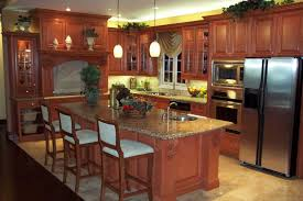 Oak Kitchen Cabinets Refinishing What To Do To Refinish Kitchen Cabinets Midcityeast