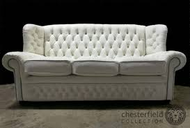 White Leather Chesterfield Sofa by Leather Sofas Perth Leather Lounges Perth Gascoigne