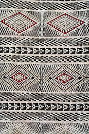 Berber Carpet Patterns Closeup Of Red White And Black Berber Carpet Pattern Stock Photo