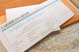 boarding pass wedding invitations boarding pass wedding invitation caribbean cruise