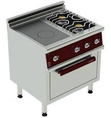 fourneaux de cuisine piano de cuisine professionnel uteyo