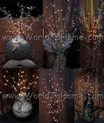 battery lighted willow branches battery operated large 38in 60 light led willow lighted branches