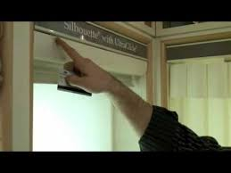 Douglas Hunter Blinds Hunter Douglas Silhouette Remove And Re Install Video Youtube