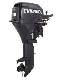 new evinrude 15hp 4 stroke outboard motor tiller 15