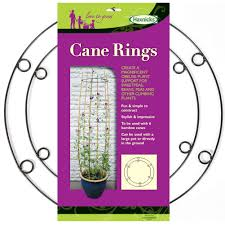 garden cane rings haxnicks