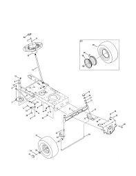craftsman tractor parts model 247288851 sears partsdirect