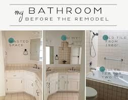 Remodel My Bathroom My Bathroom Remodel The Little Room Of Style