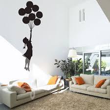home decor free shipping wall art designs wall art decor ideas banksy floating balloons