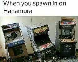 Arcade Meme - spawning on hanamura overwatch know your meme