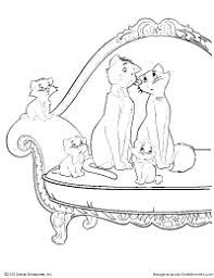 69 aristocats coloring pages cat color pages printable