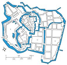 Castle Blueprint File Edo Castle Plan 1849 Svg Wikimedia Commons