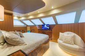 Bedroom Furniture Yate Sea Glass Crewed Power Yacht Charter Virgin Islands