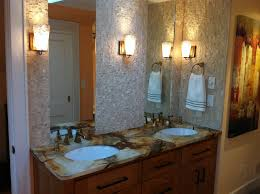 bathroom bathroom sink lighting ideas modern double sink
