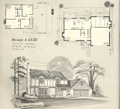 Tudor Style House Plans Vintage House Plans 1970s English Style Tudor Homes Antique