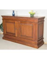 savings on large 6ft solid mahogany 2 door buffet sideboard server