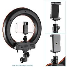 neewer led ring light amazon com neewer rl 12 led ring light 14 outer 12 on center with