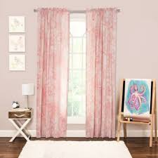 Soft Pink Curtains Buy Pink Curtain Panels From Bed Bath Beyond