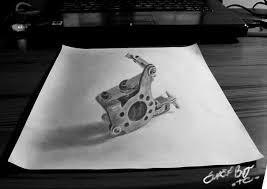 tattoo gun sketch tattoo machine by tattoocream19 on deviantart
