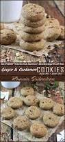 ginger cardamom cookies sugar free and gluten free