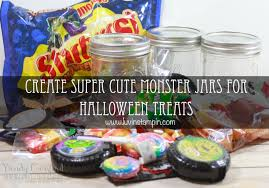 Mason Jar Halloween Monster Jar With Candy Halloween Treats Luvin Stampin