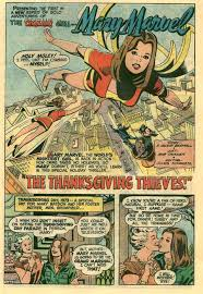 marvel thanksgiving the bronze age of blogs mary marvel by bob oksner